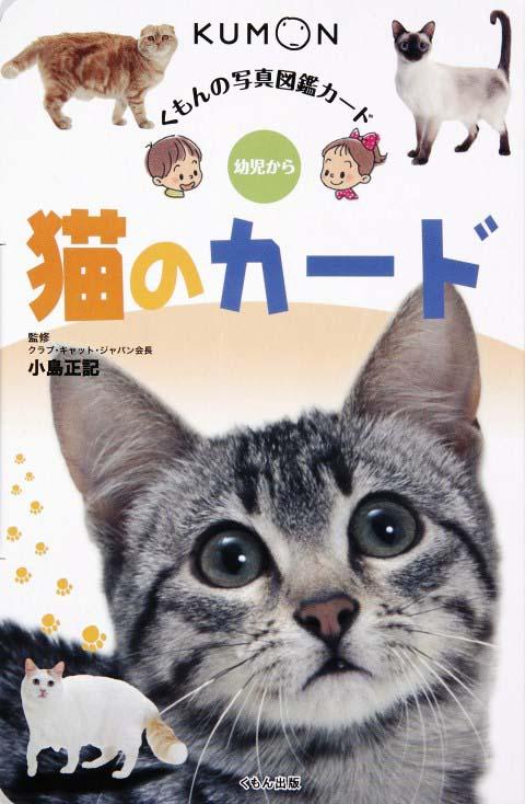 写真図鑑カード 猫のカード