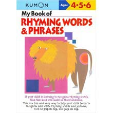 My Book of Rhyming Words Phrases